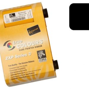Zebra ZXP3 Black ribbon